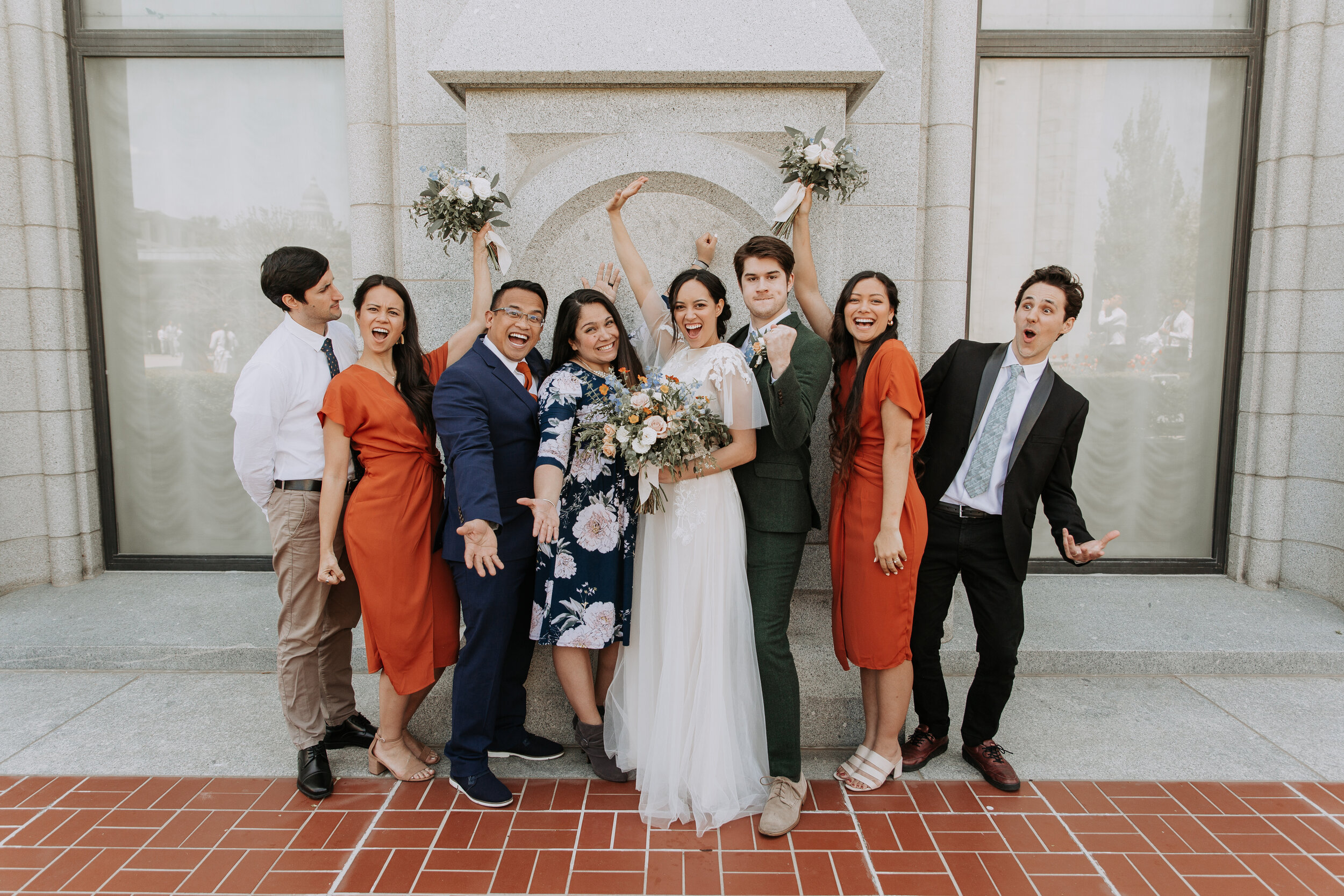Spring Wedding in Salt Lake City