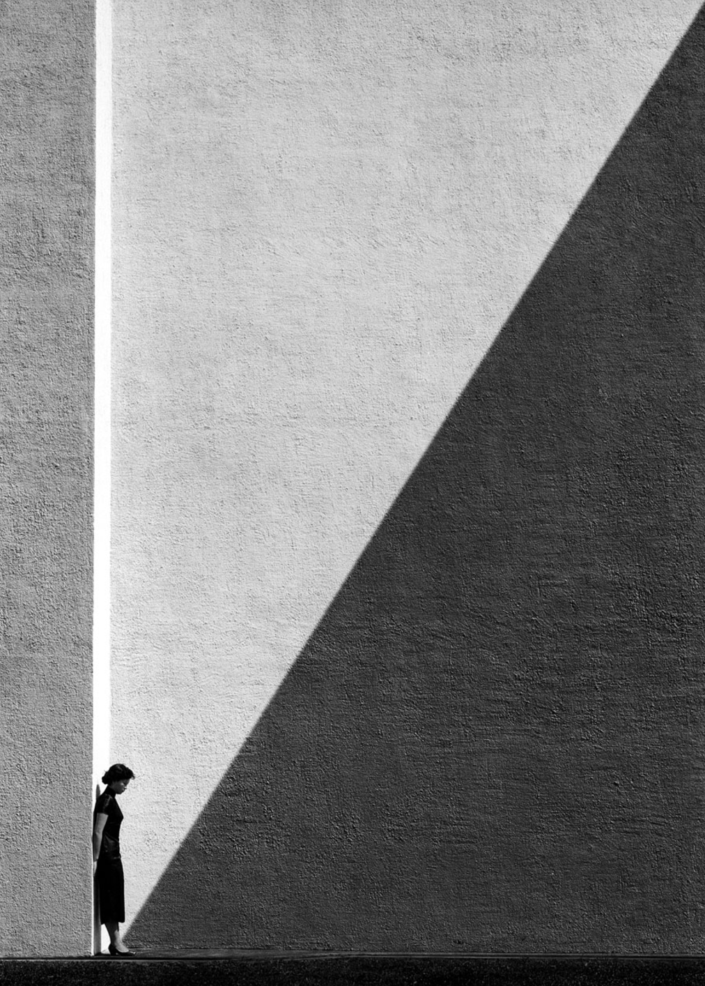 Ho Fan. Approaching Shadow, 1954