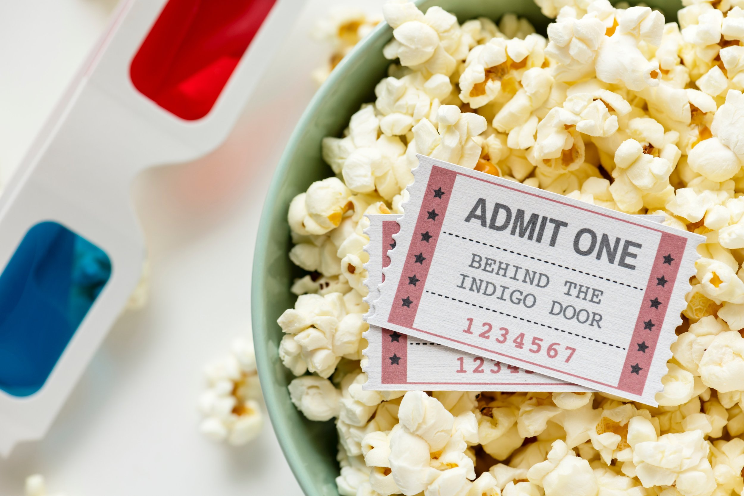 Watching movies.  This is a bit simple but staying positive while watching the trailer will make you enjoy the movie when it comes out. How do you stay positive while watching the trailer? By having the popcorn ready already.