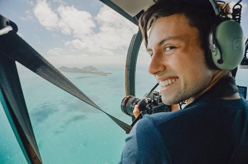Flying over the Great Barrier Reef was one of the most incredible things I've ever done. Tons of new images coming your way very soon!  Pic cred: the amazing @gabbyghanley . . . #hamiltonislandair #greatbarrierreef #hardyreef #queensland #australia