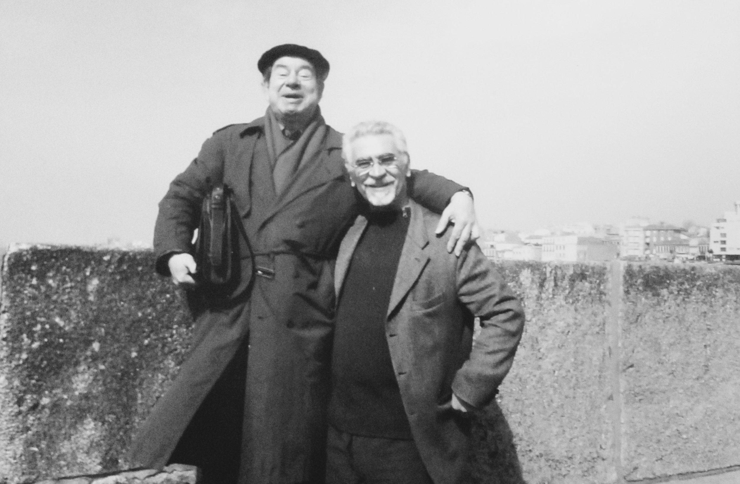 With César figueiredo at Foz do Douro