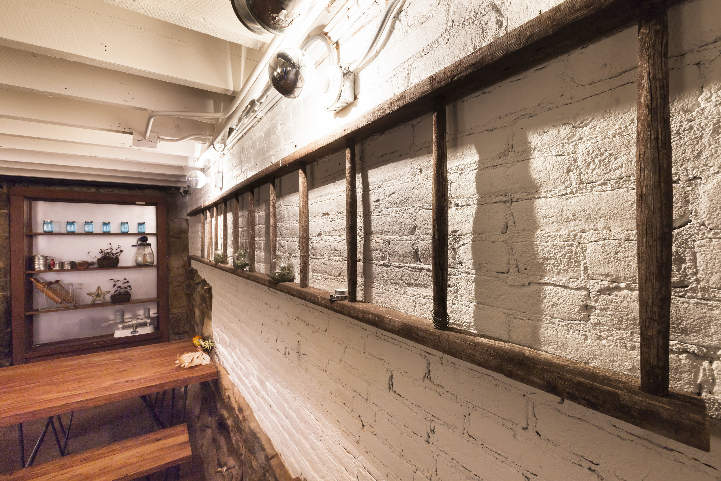 restored commercial basement