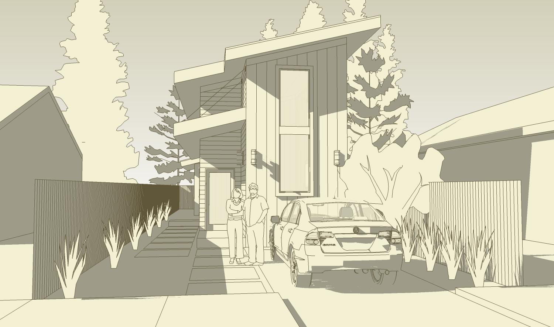 3D street view