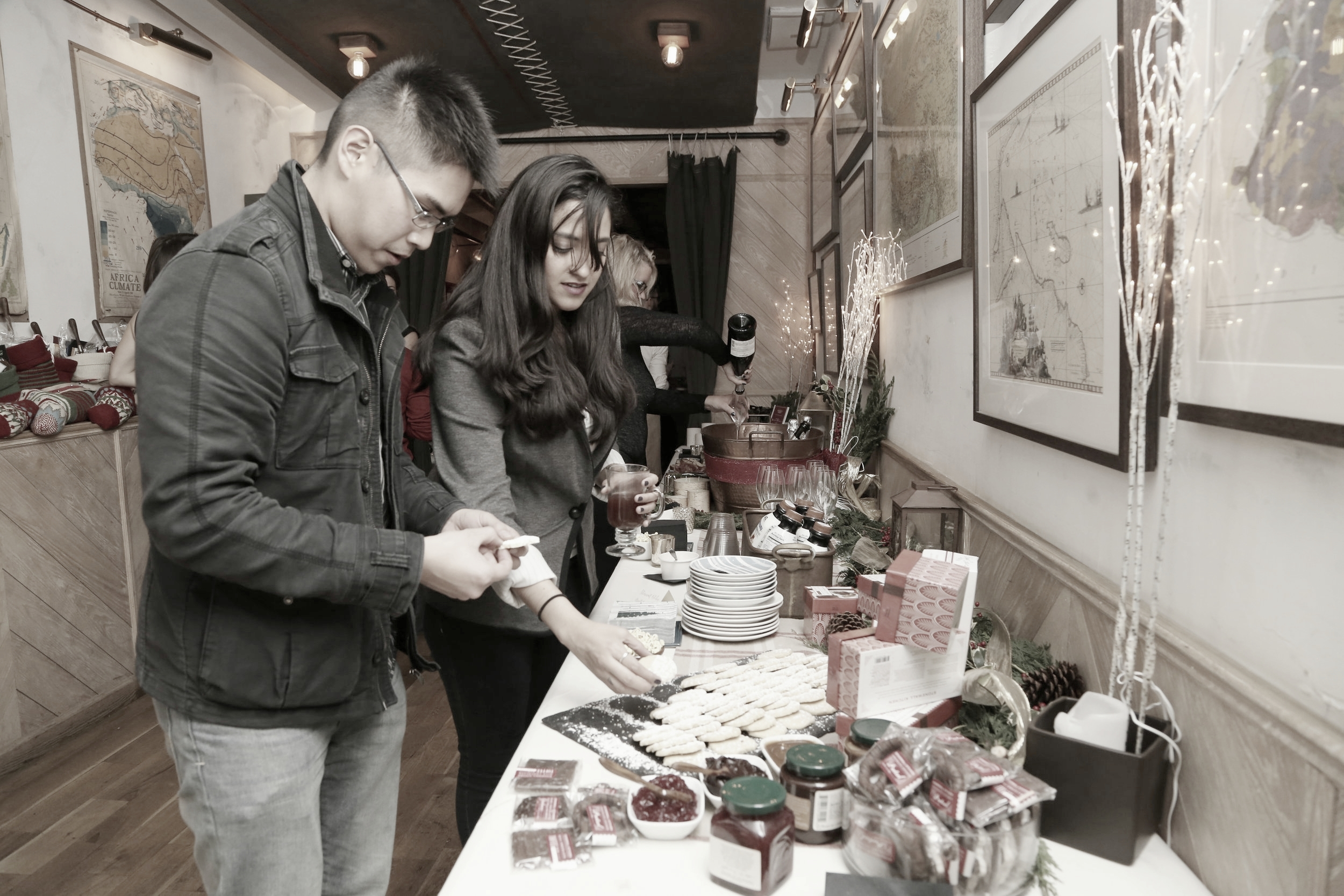 """Epicurean's Holiday"" Media Event 