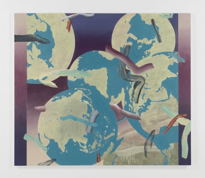 Greg Edwards, World Painting 1 (2015) at Art Central Hong Kong