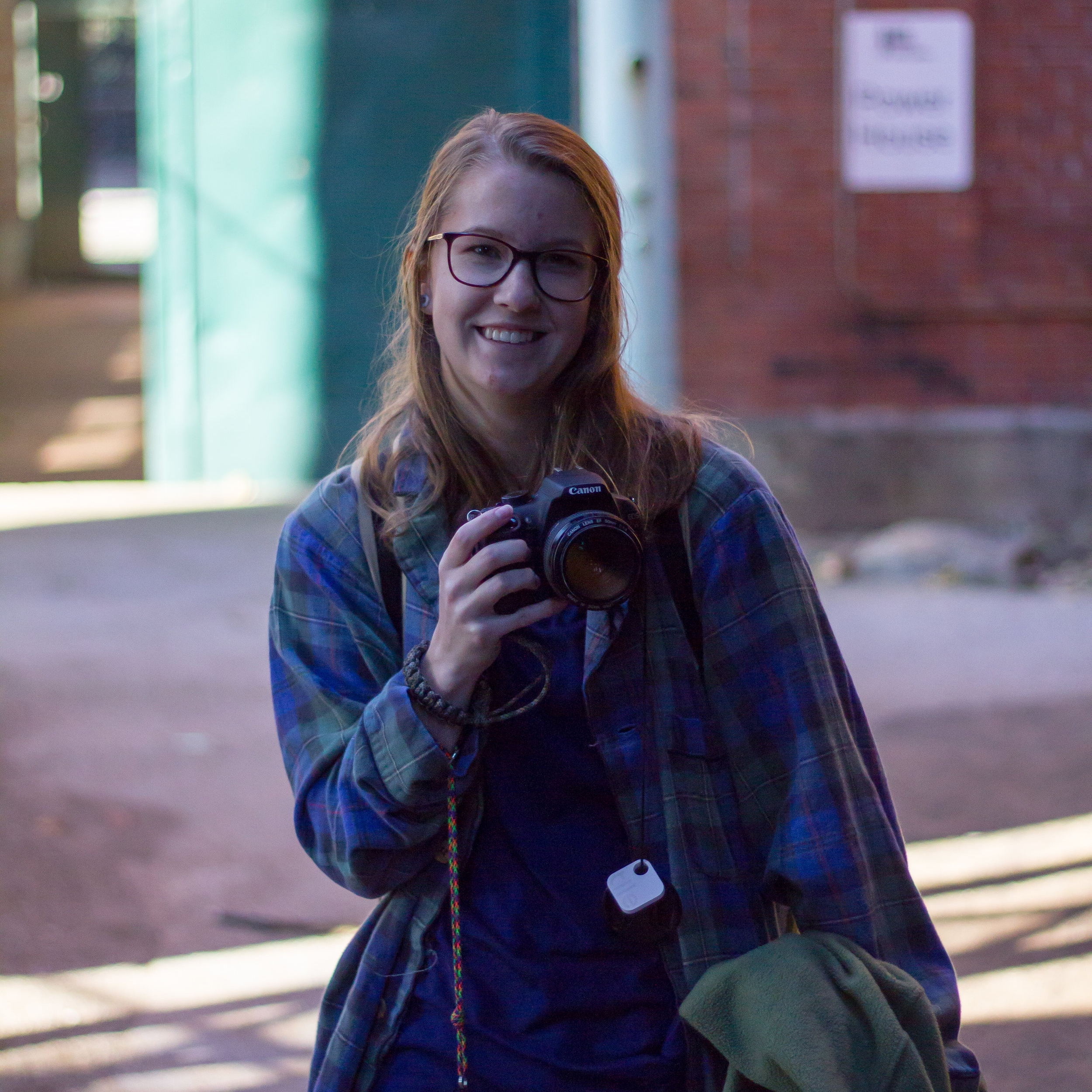 Rachel Carkuff  / public arts  chemistry nerd into shooting & developing 35mm film