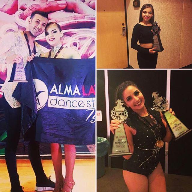 Martin Gonzalez, Alexa Valadez, Daryna Gonzalez bring home 3 first places at Nationals  Salsa and Bachata  #AlmaLatinaExito #martinalmalatina #alexaAlmalatina #darynaalmaproam2k17