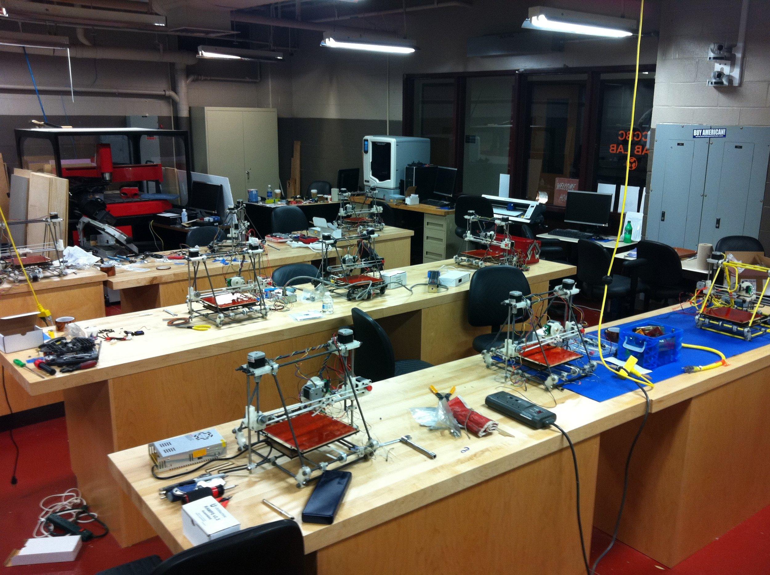 RepRap Build Class
