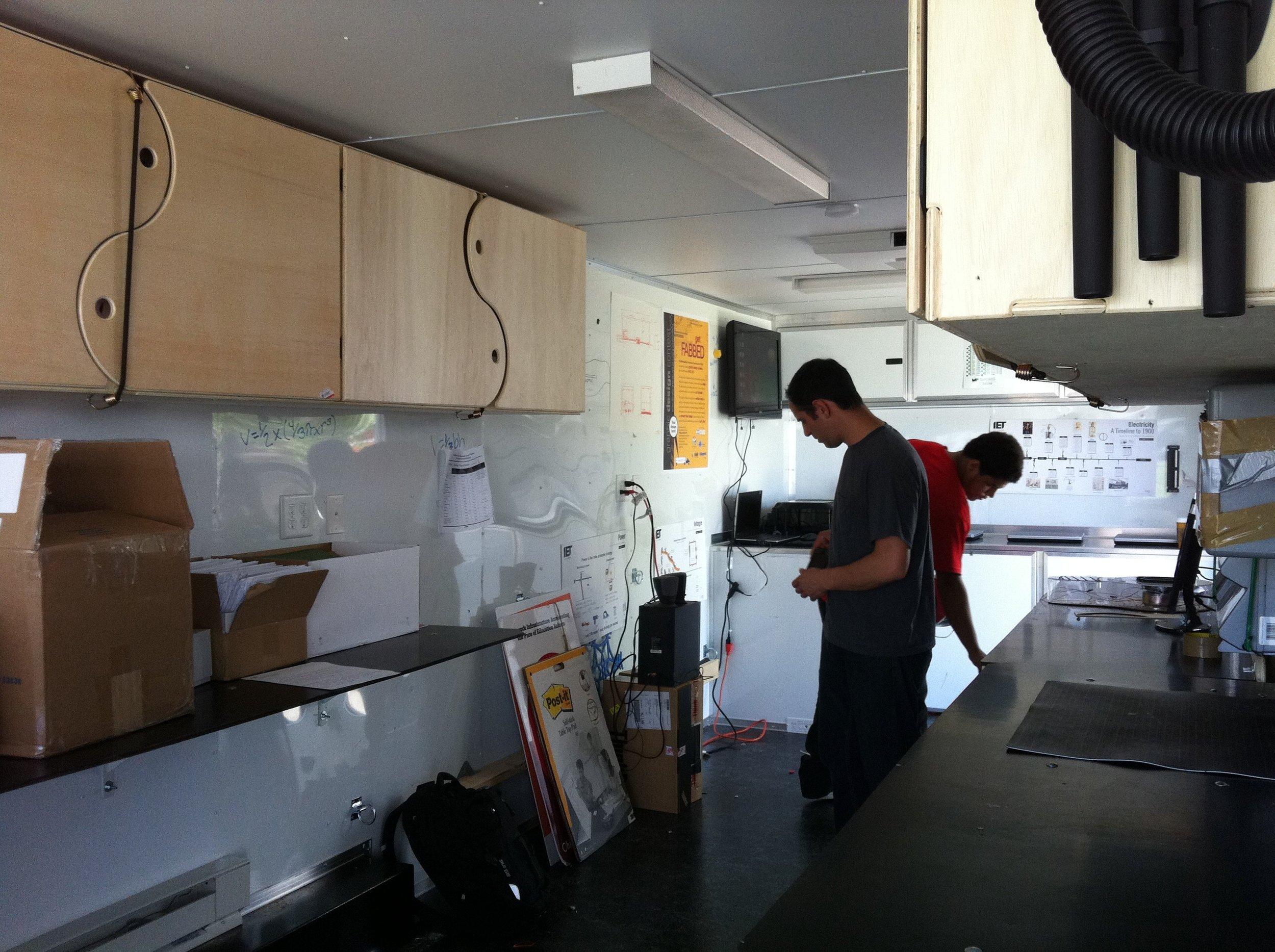 Mobile Lab Interior