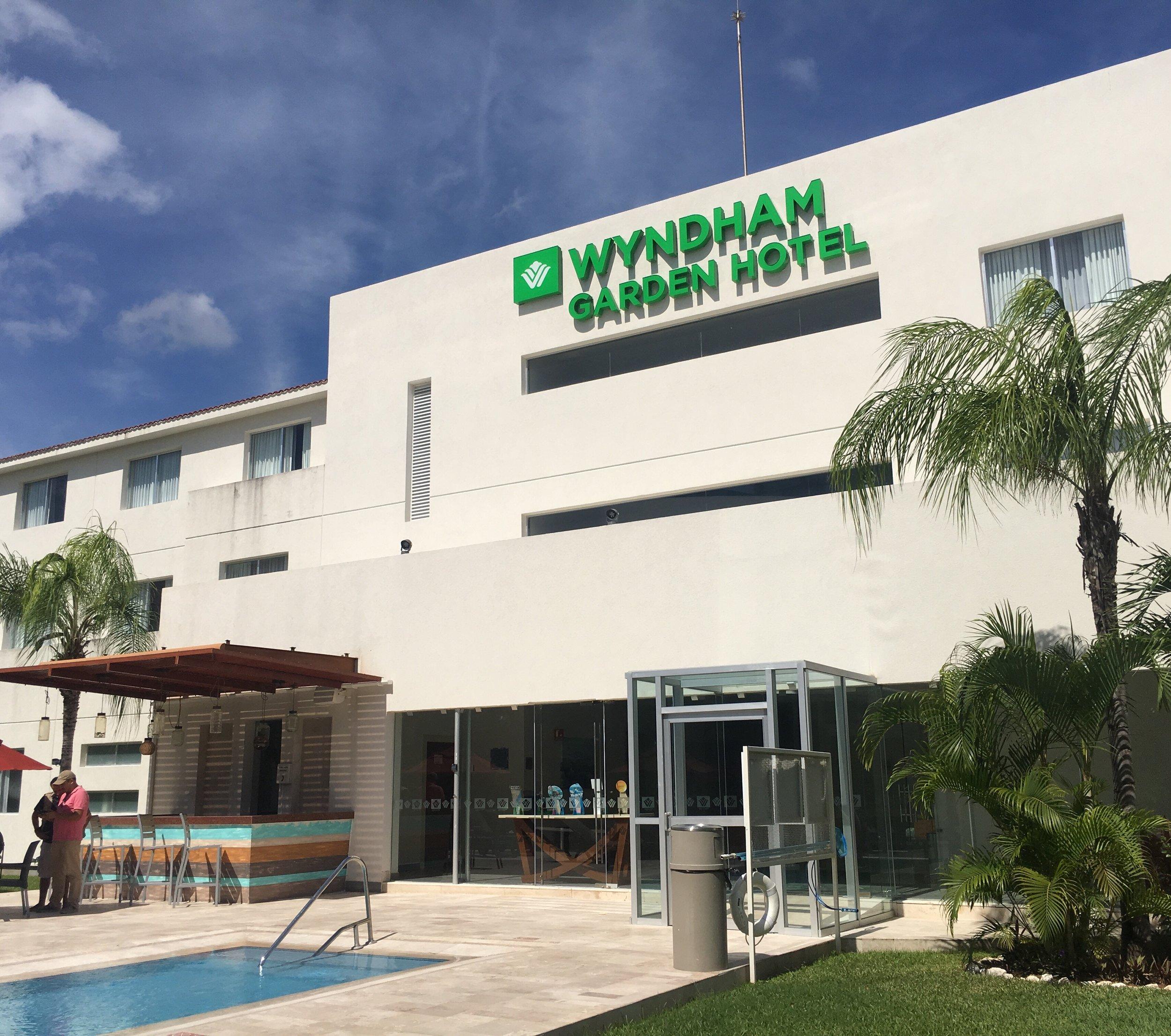 Reseña del Hotel Whyndham Garden Playa del Carmen