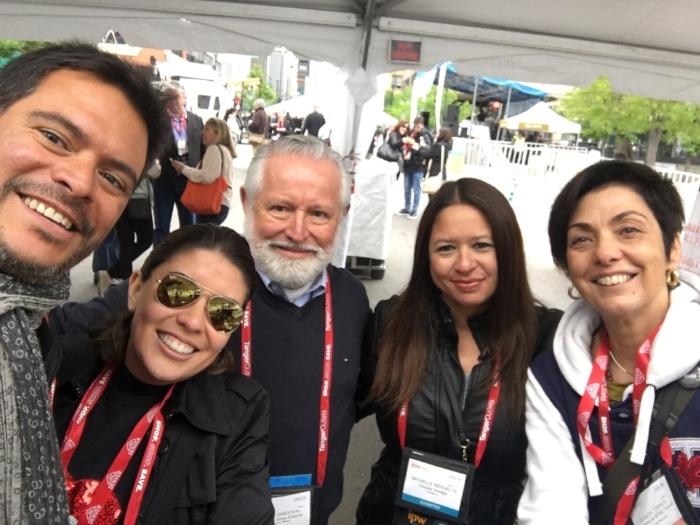 Delegaciones y periodistas internacionales en el IPW 2018 Denver