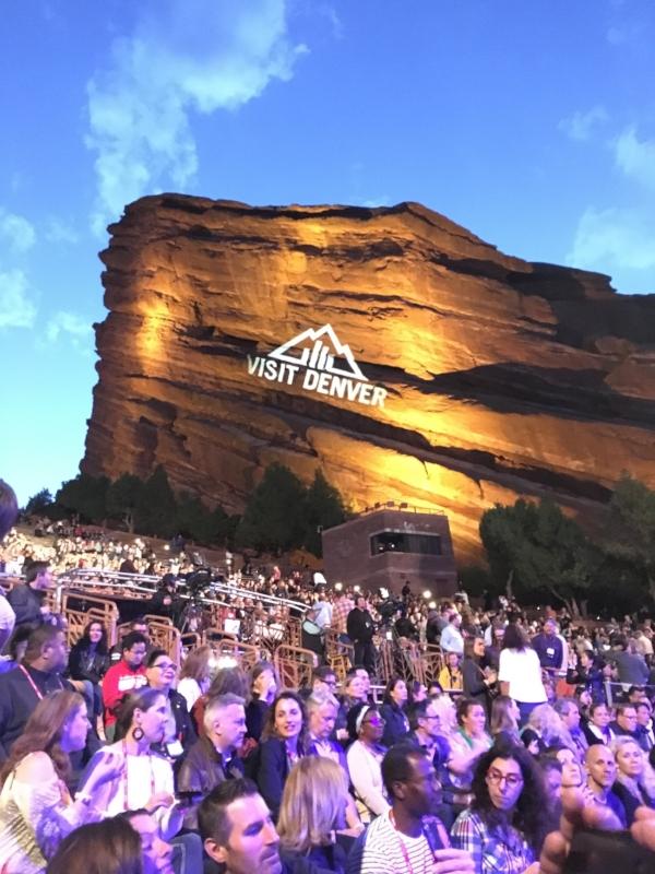 One Direction en el Colorado Red Rocks Park & Amphitheatre