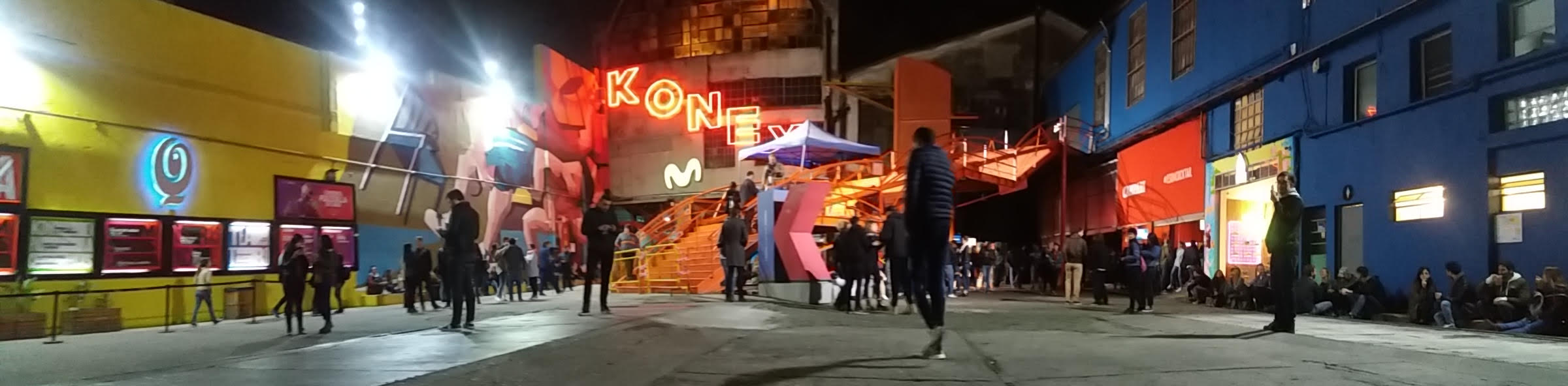 Casa Cultural Konex en Buenos Aires. Foto por  Jéssica M.