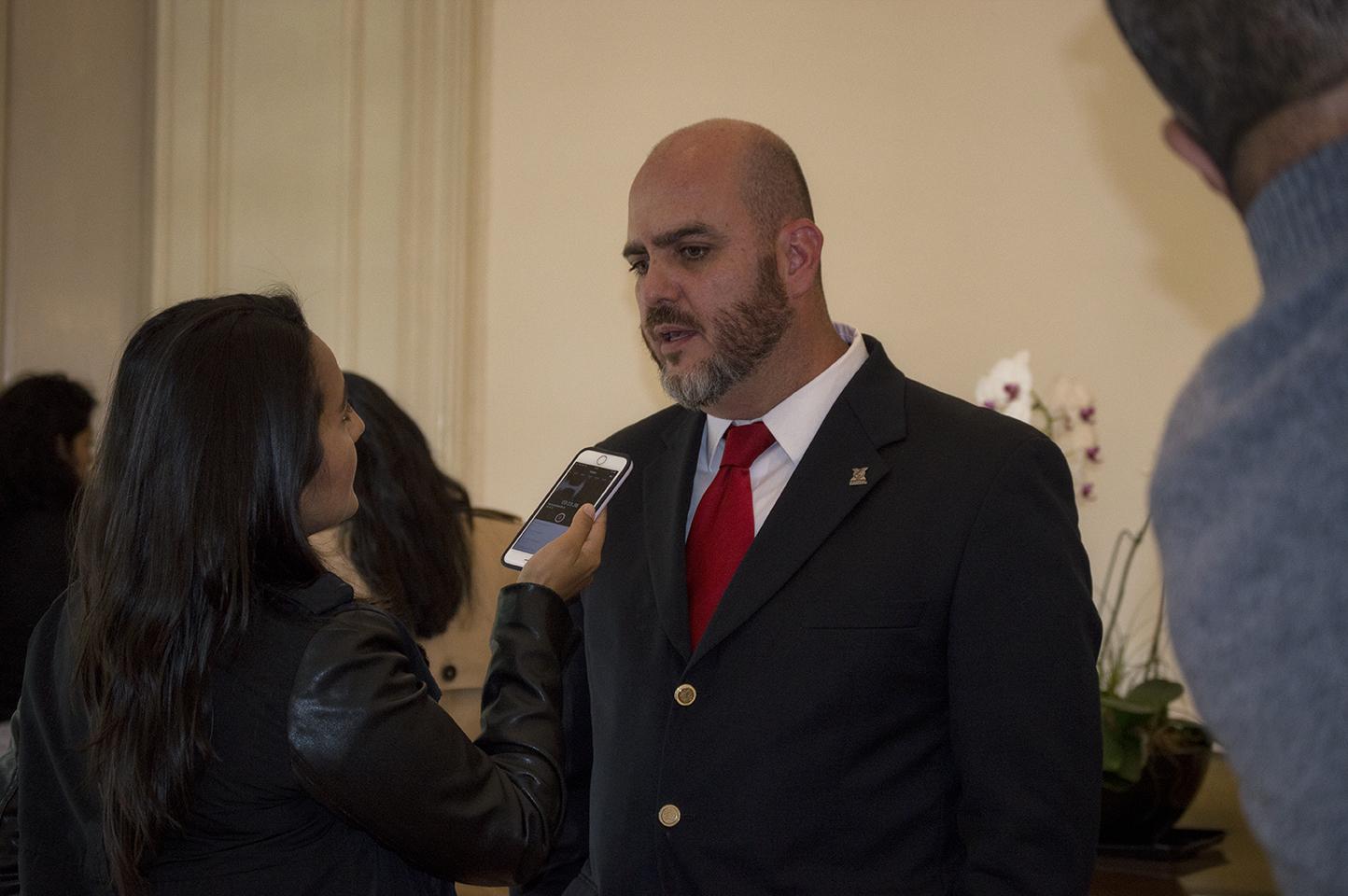 Fernanda Delgadillo entrevista a Juan Carlos Izquierdo, Director de EarthX México  Foto: Fabzz Hernández