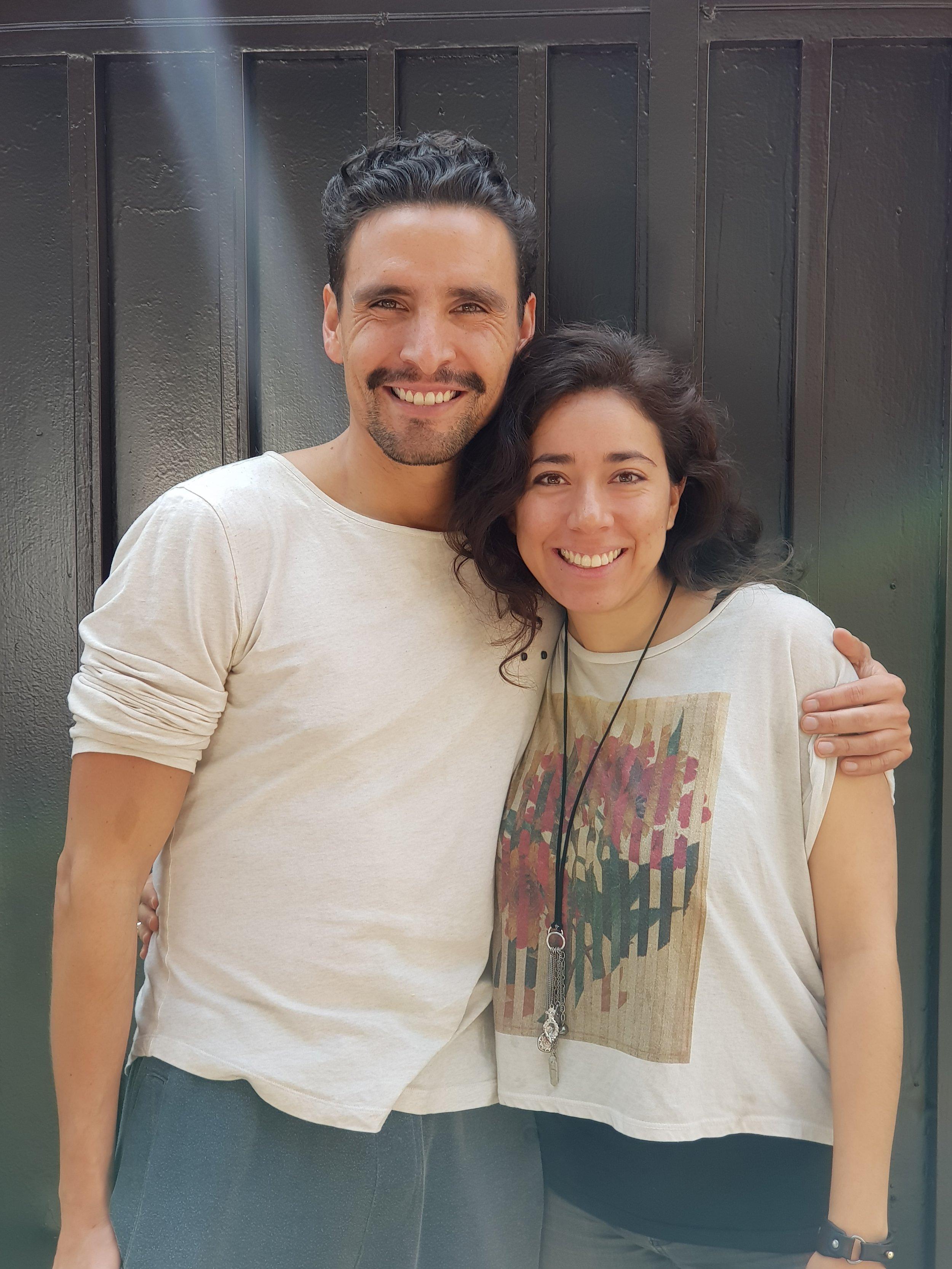 Entrevista Tania Arroyo presentando Gramo México