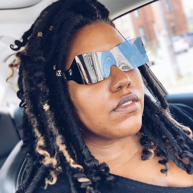 Eye Doctor (after eye exam): Here is your lens prescription.  Me: But I wanted to go into 2020 with 20/20!  Eye Doctor: *just stares*  Me: I will just see myself out... #weirdling #baltimorenaturalhair #baltimoregirl #crochetbraidstyles #fauxlocs #protectivestyles