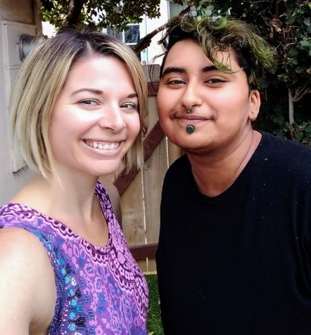 Erica and Zaina Nazerally