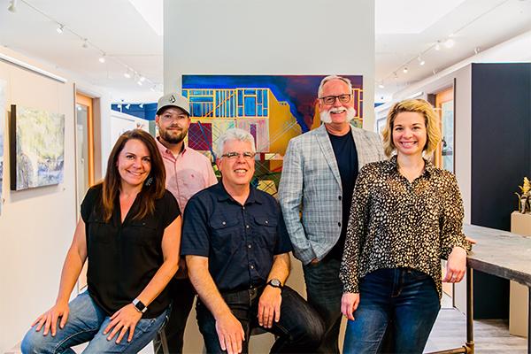 Holly Sutor, Chris Smith, Brian Baxter, Patric Stillman, & Erica Orr