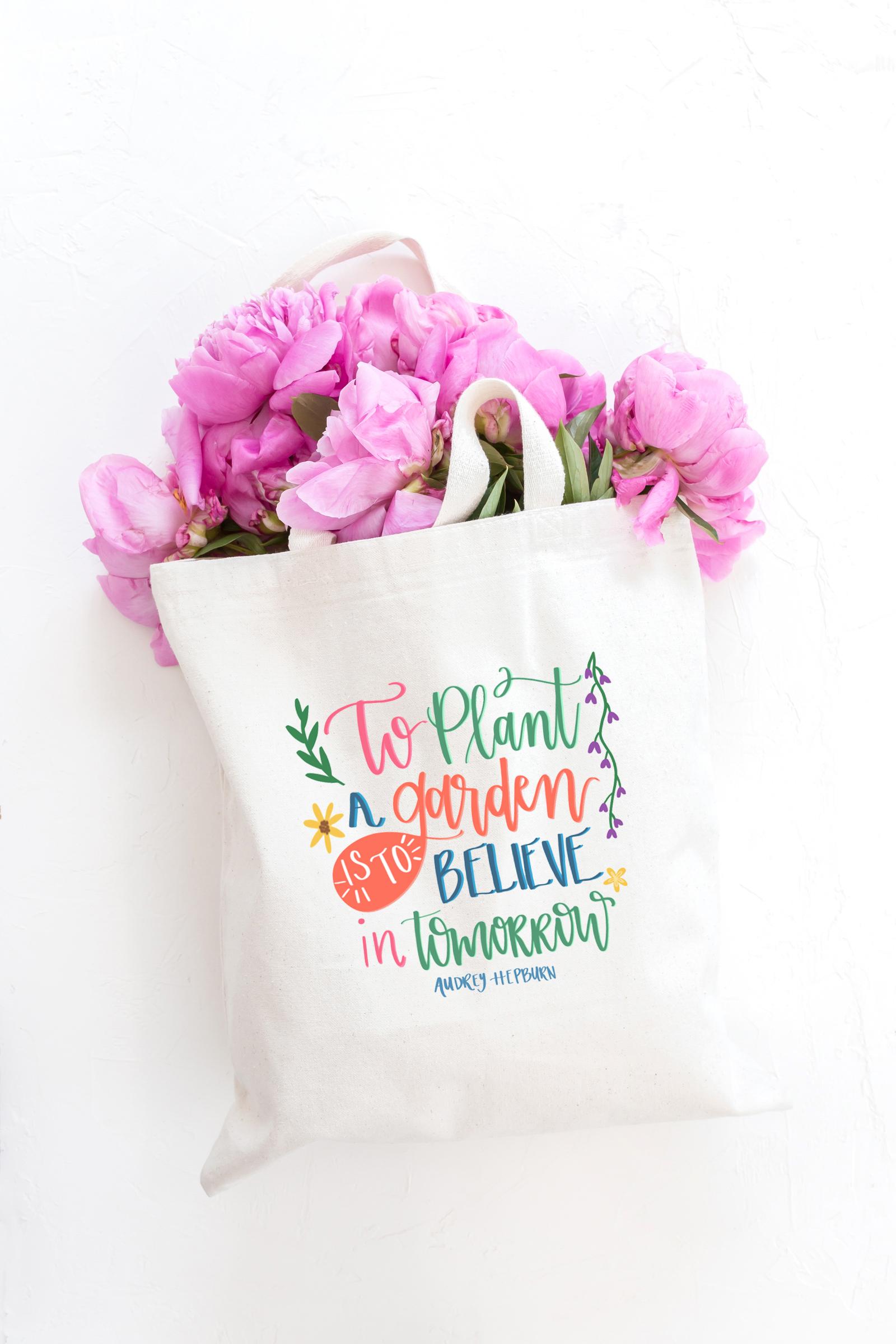 FloralToteBag