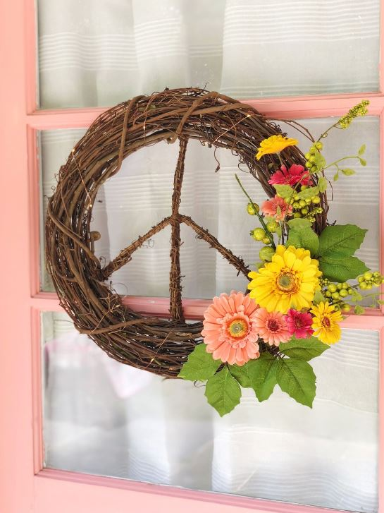 PeaceSignWreathDeclarationHome.JPG