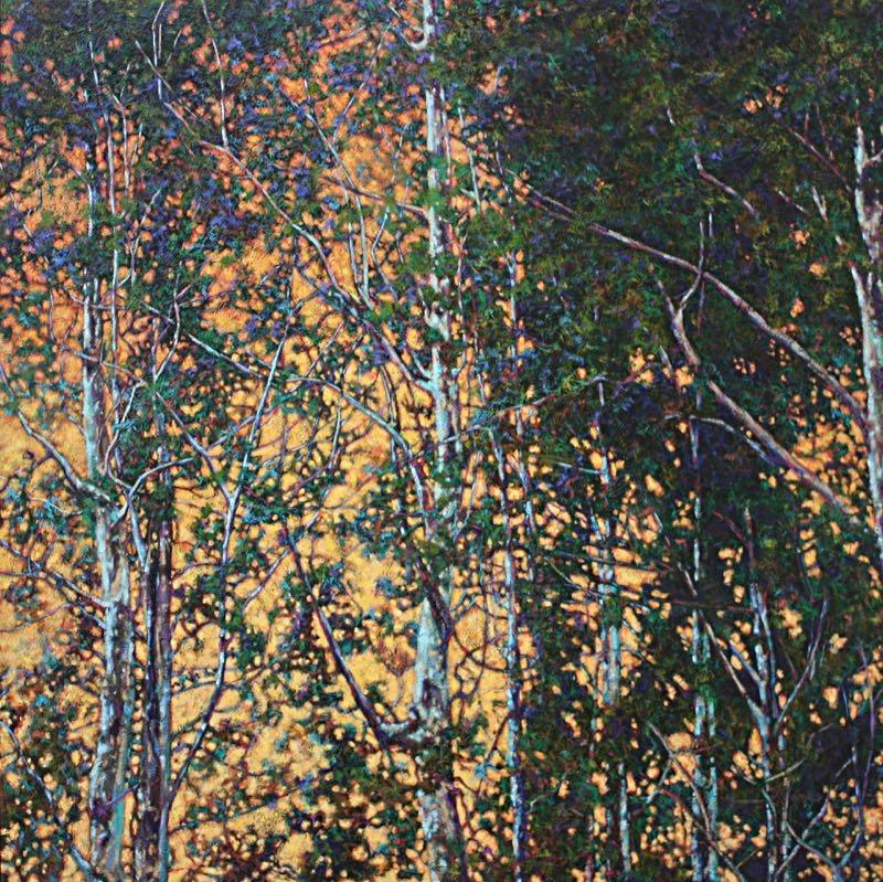 "New Light, 48"" x 48"" Oil on Canvas"