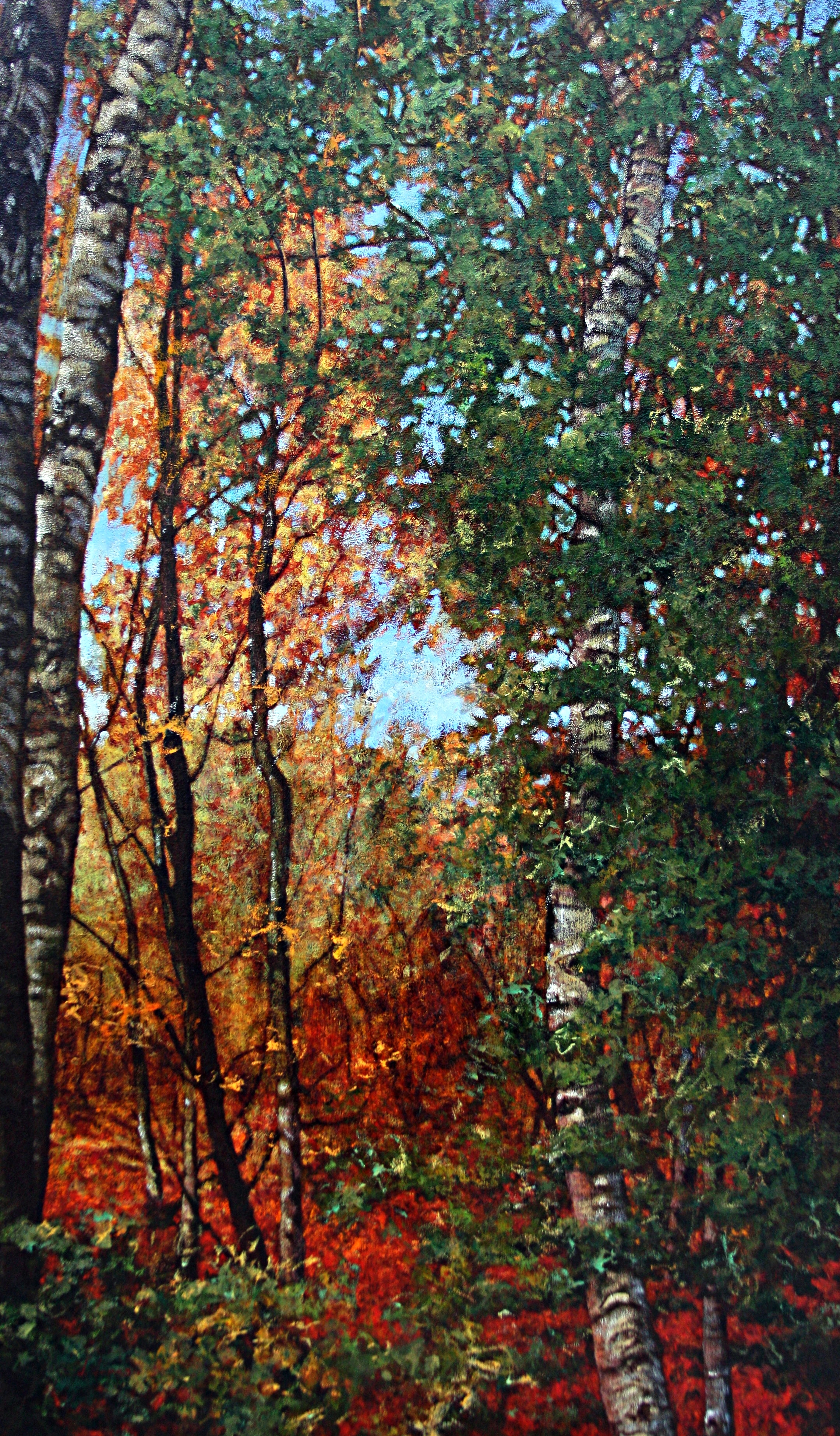 """Welcome Light, 60"""" x 36"""" Oil on Canvas"""