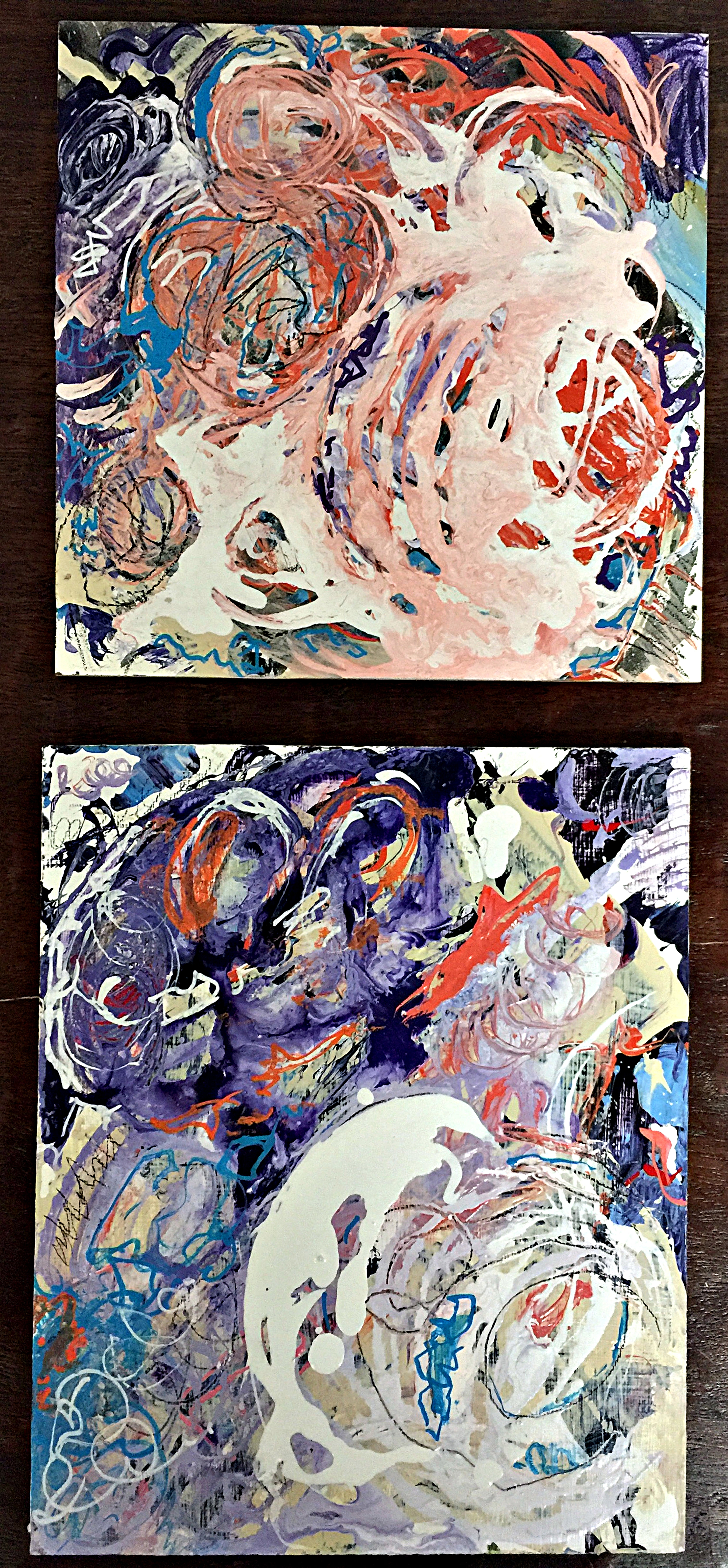 Diptych: Morning Dew and All My Days