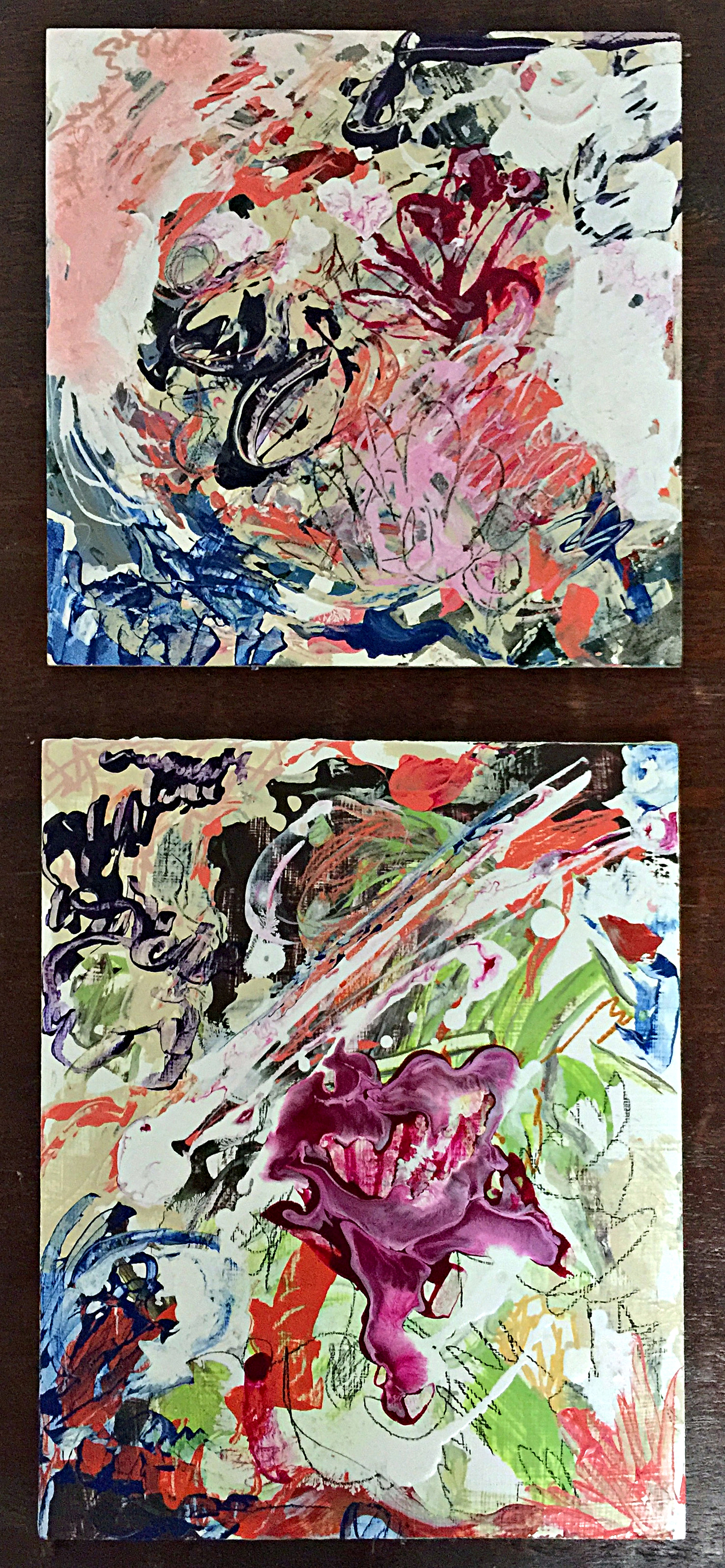 Diptych: In The Sun and Blood Flower