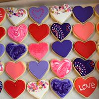 Cut-out Cookies - Large - $36 per dozenMedium - $18 per dozenLittles - $9 per dozenAlmond Sugar or GingerbreadOur decorated cut-out cookies, depending on the design, may require an additional charge. Please inquire with us for exact costing.
