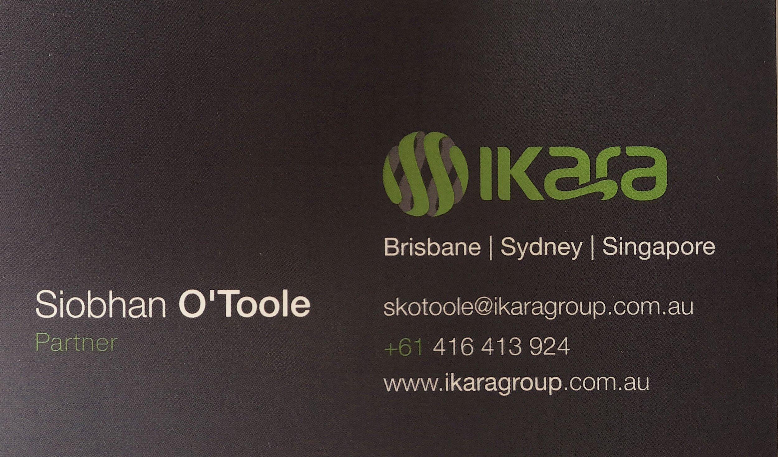 Ikara Business Card