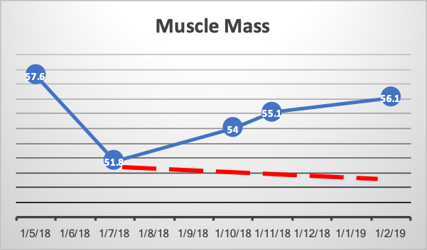 Siobhan O'Toole Lean Muscle Mass