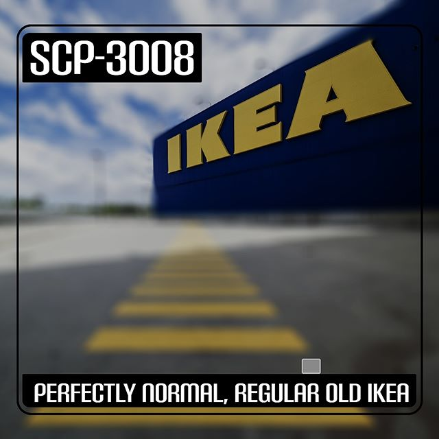 "SCP-3008: ""Perfectly Normal, Regular Old Ikea"" drops tomorrow. Are you ready for the endless furniture store? Good luck finding the exit... #SCP3008 #Ikea #SCPArchives #AudioDrama #Spooky"