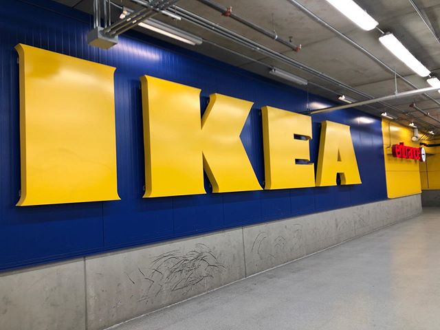 Venturing into IKEA today... Wish me luck!