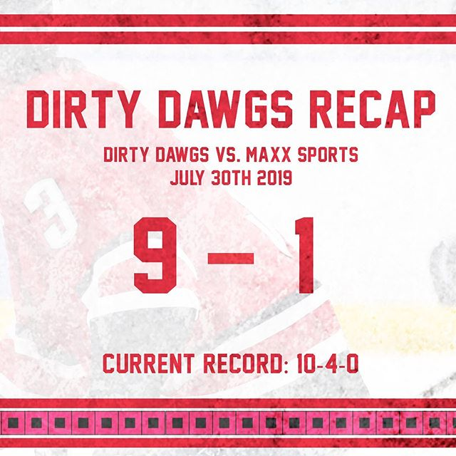 Just what we needed! Huge win for the Dawgs after scuffling for a few weeks. #FeedTheDawgs  SZN finale next week.  3 Stars: 🥇: @christianbebis (1G 3A) 🥈: @jason.te (1G 2A) 🥉: @mbebis (2G)