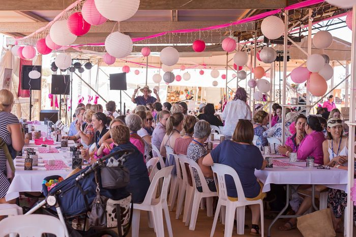 Photo:  Women attending Channel Country Ladies Day heard what the Women of the World Festival has in store in 2018. (Supplied: Louise Gronold)