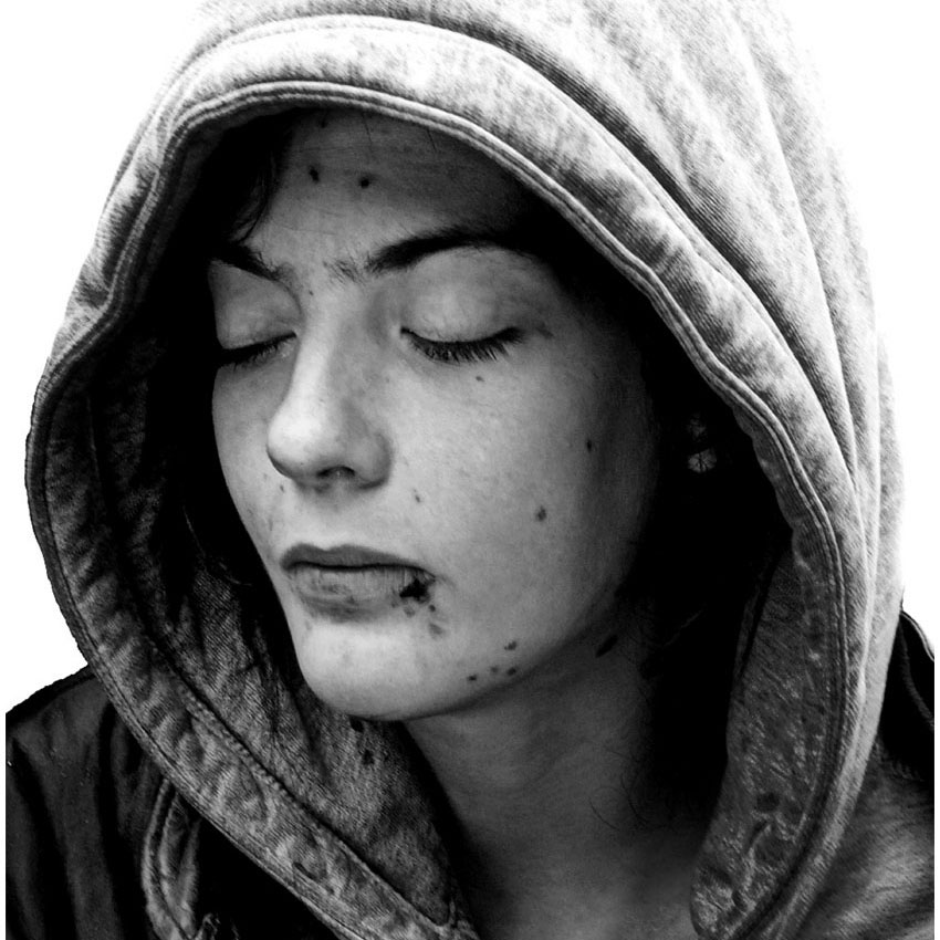 """Leah Denbok: Nowhere to Call Home - Nowhere to Call Home is a powerful collection of photographs and stories of people experiencing homelessness by 17-year-old Canadian photographer Leah Denbok. Across these images Leah hopes to humanize people experiencing homelessness and shine a spotlight on the problem. For the past four years Leah has been mentored by National Geographic photographer and Fellow Joel Sartore. When Leah was just 14, Joel said of her, """"If she sticks with it, I think she's well on her way to becoming not just a good photographer, but a great photographer. And I'm not kidding.""""The inspiration for this work is Sarah Denbok who is travelling with her to WOW at Festival 2018 where they tell their story. Leah will also be one of the photographers in residence for the event. Their involvement has been made possible through support from the Government of Canada."""