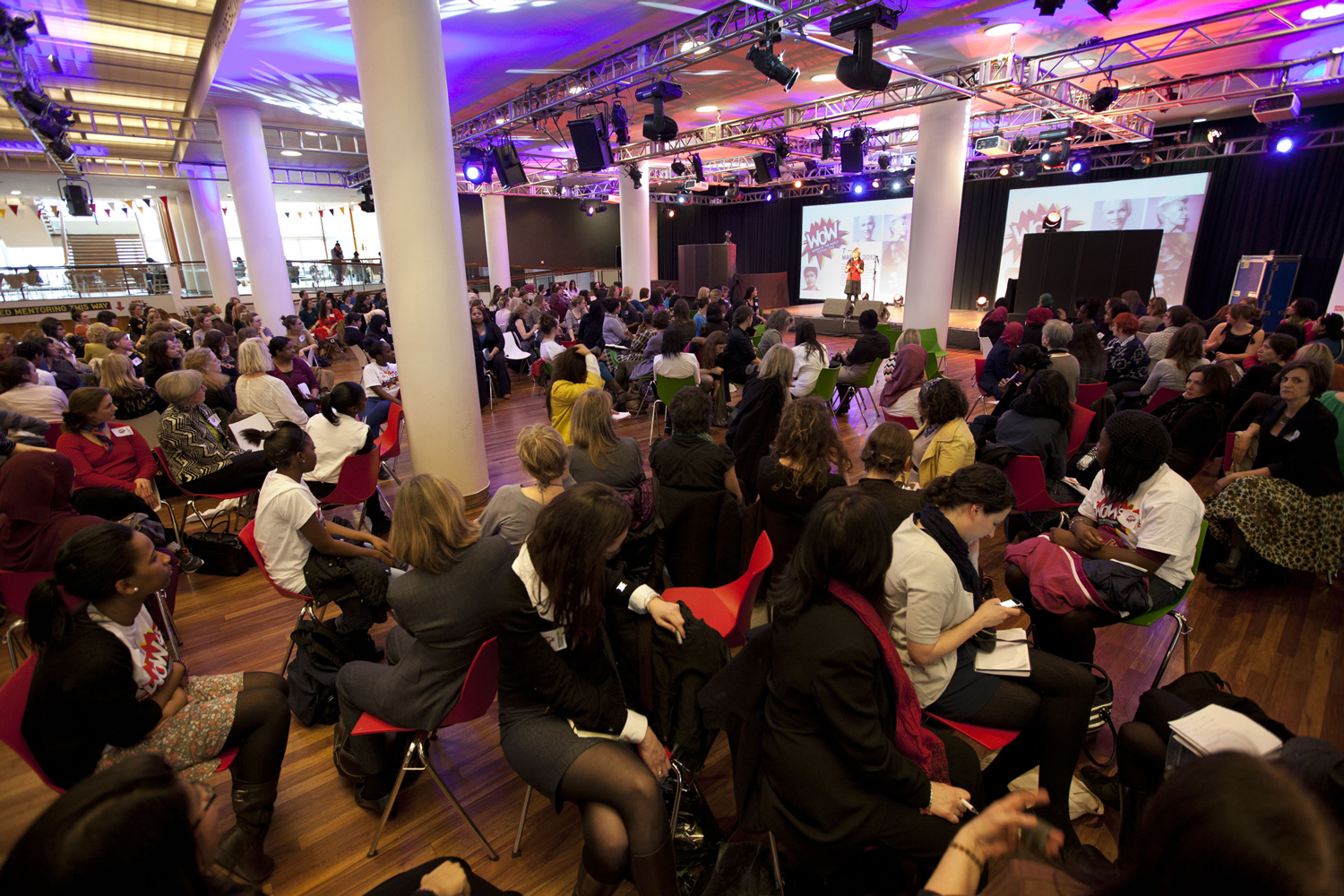 Speed Mentoring - WOW London 2016