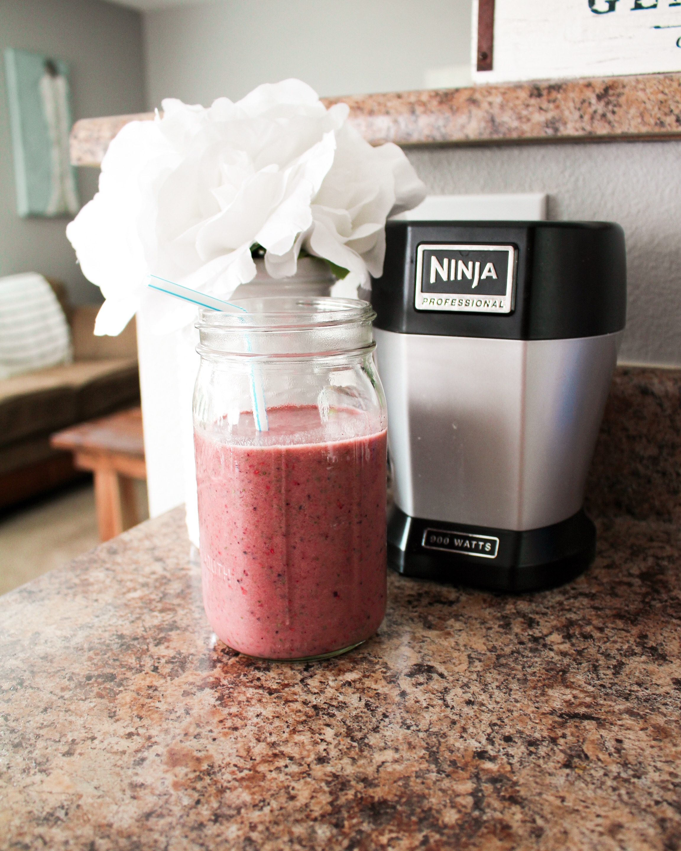 My Go-To Antioxidant Smoothie - The smoothie recipe a drink every morning for a super food breakfast