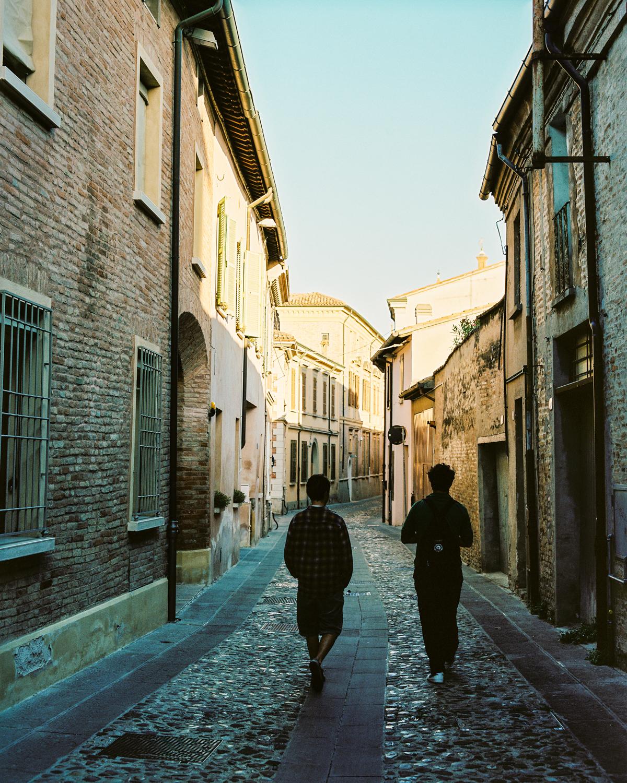 Street Scene Lugo, Italy  2017