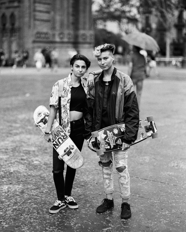 Skater Kids Barcelona, Spain  2017