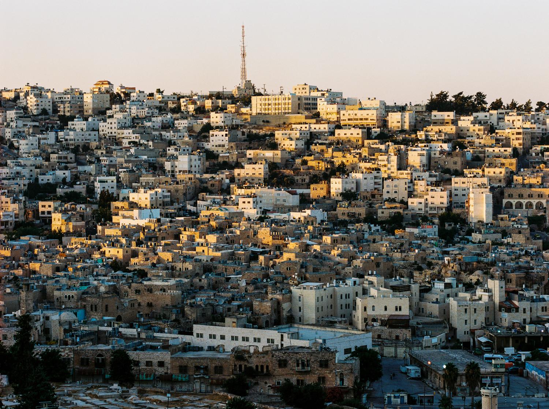 Overlooking Al-Shuhada Street Hebron, Palestine West Bank  2015