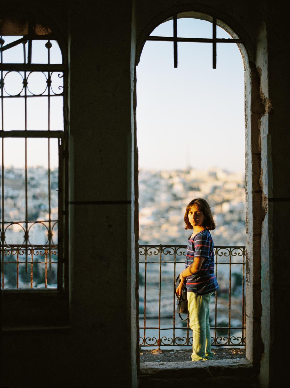 Abandoned Palestinian Home Near Al-Shuhada Street Hebron, Palestine West Bank  2015