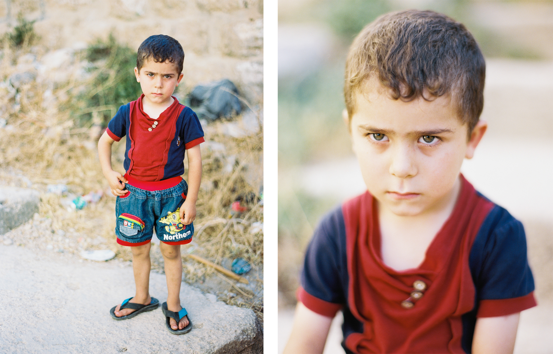 Palestinian Boy Near Al-Shuhada Street Hebron, Palestine West Bank  2015
