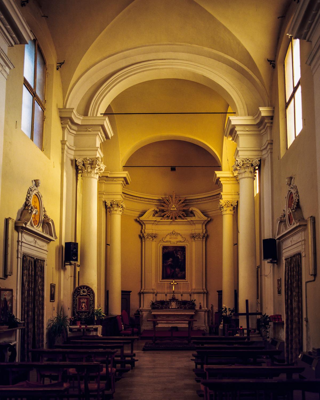 Yellow chapel Lugo, Italy 2017