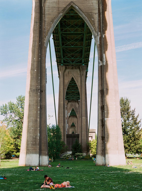 Cathedral Park Portland, Oregon USA  2016
