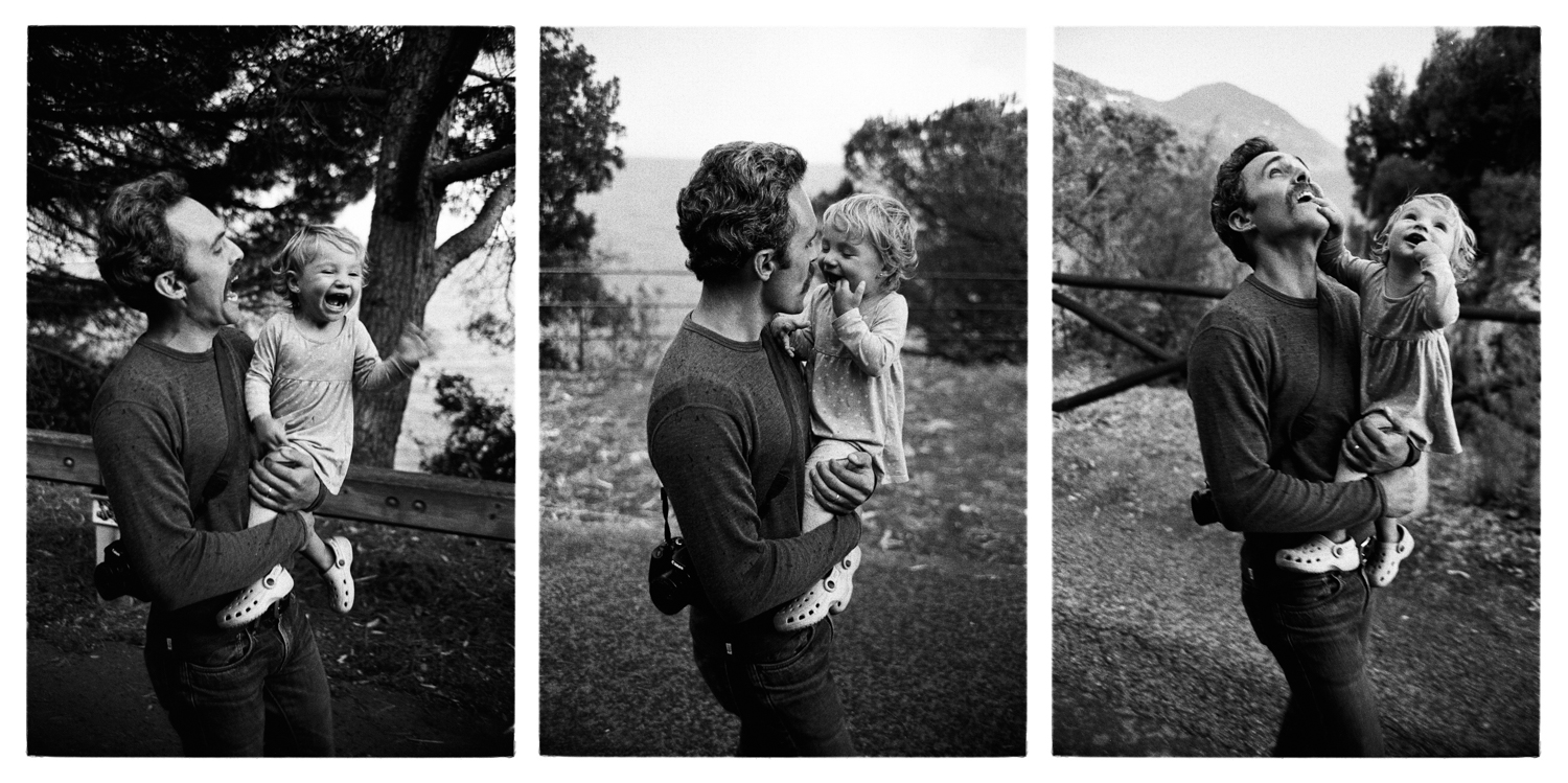 Father and Daughter Bonassola, Italy  2017