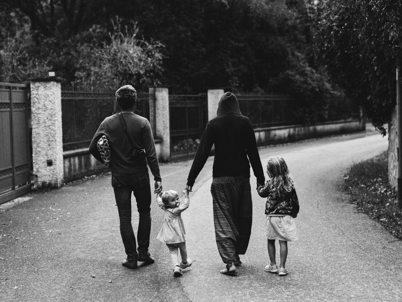 Family with Little Girls Bonassola, Italy  2017