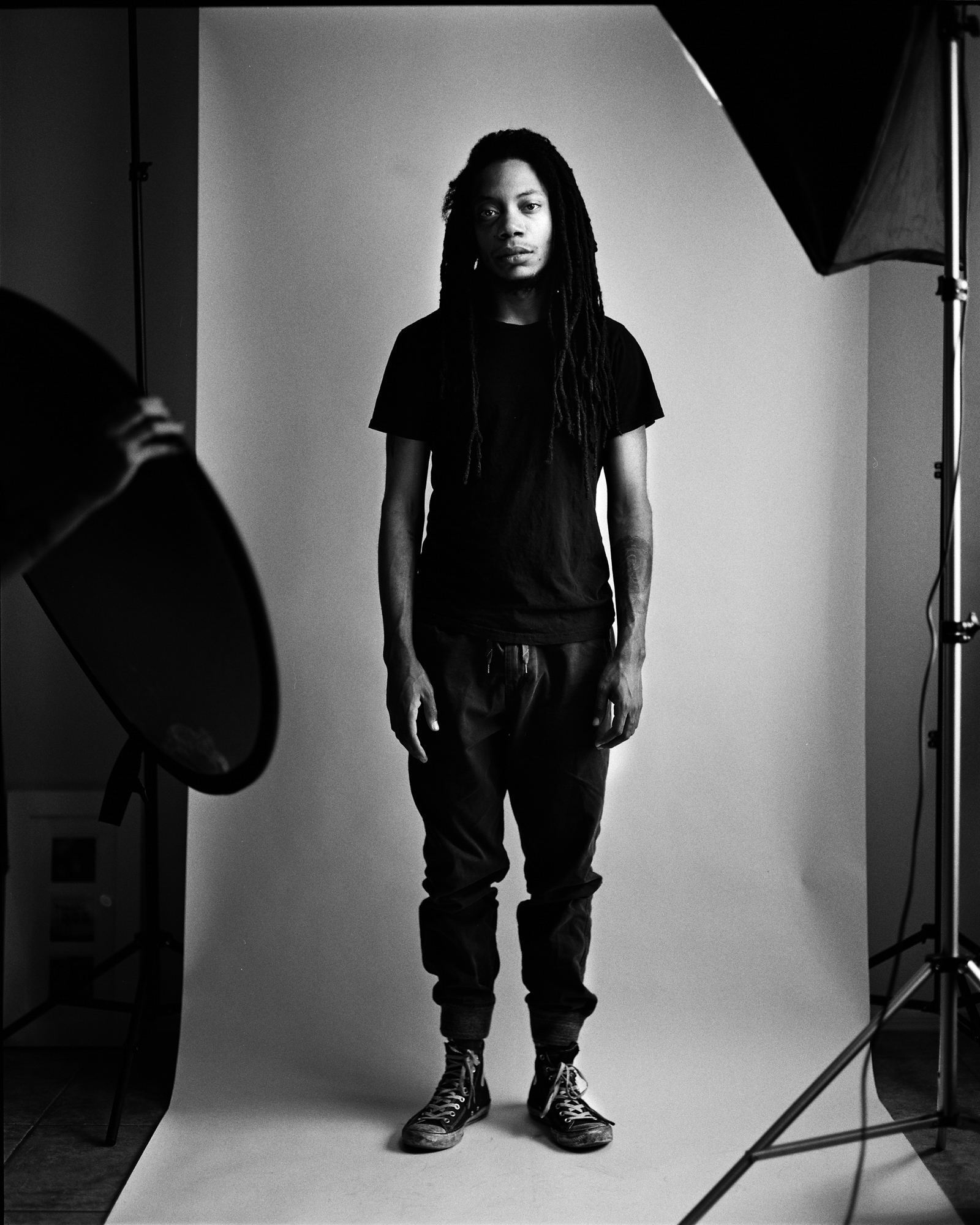"Lando Chill ""Fragile Pride"" Series Promotional Images for ""Black Ego""  Album Release"