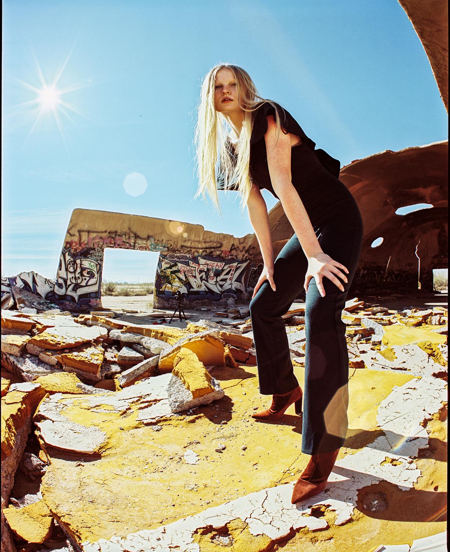 1_Megan_Pentax_67_35mm_fisheye_Lens_Flare_Portra_400_Casa_Grande_Arizona_Domes_Copyright_Taylor_Noel_Photography.jpg