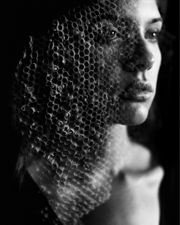 18_Jennifer_Wasp_Bee_Nest_Double Exposure_Mamiya_RB67_Ilford_HP5_Copyright_Taylor_Noel_Photography.jpg